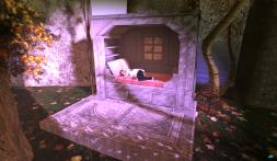 Trompe Loeil - Morning Light Cupboard Bed PG Rose