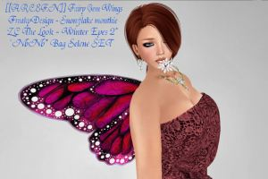 [[A.R.C.F.N.]] Fairy Gem Wings N@N@ Bag Selene SET FreakyDesign - Snowflake mouthie ZC The Look - Winter Eyes 2[[A.R.C.F.N.]] Fairy Gem Wings N@N@ Bag Selene SET FreakyDesign - Snowflake mouthie ZC The Look - Winter Eyes 2