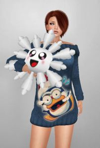 FreakyDesign - Snowflake plush ~GL~ Gaea Designs Frozen Sweater {Pingy2}FreakyDesign - Snowflake plush ~GL~ Gaea Designs Frozen Sweater {Pingy2}
