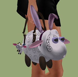LavandaChic* Lovely Sheep Tote